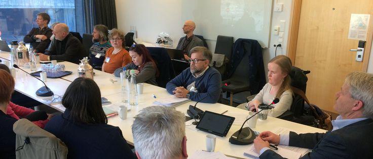 TEK17-møte med statssekretæren | Aktuelt | Forside