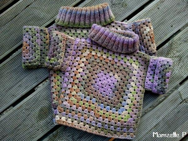 kids granny sweater