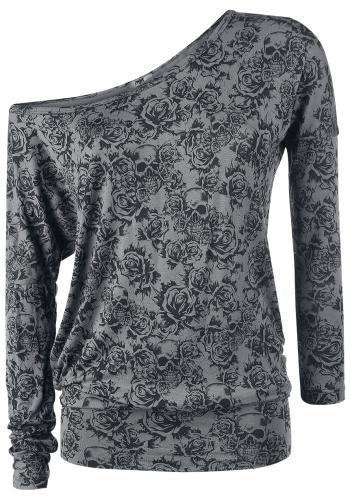 Skull & Roses Top by Black Premium ~ EMP