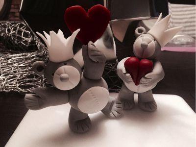Prøvde meg på å lage en teddybjørn. Og ble veldig fornøyd! Men ble vist utrolig populær! Og folk ...