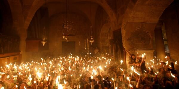 Easter Vigil, Lumen Christi, Deo Gratia!