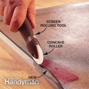 How to Fix a Window Screen - Step by Step | The Family Handyman