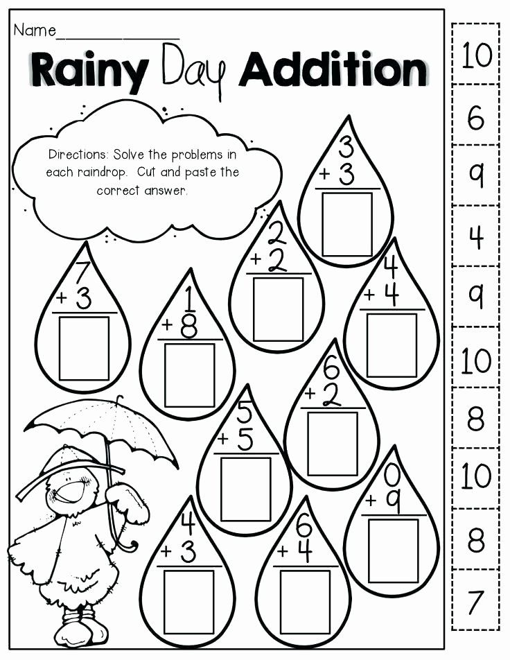 Weather Worksheets for First Graders 2nd Grade Weather