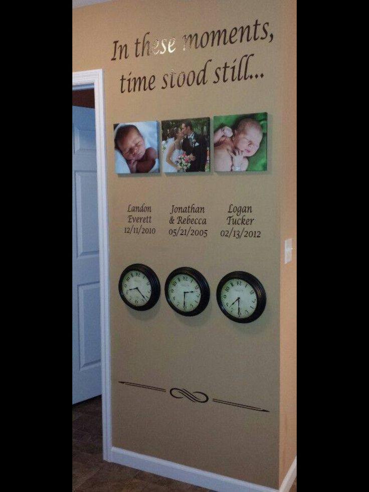 Wow, was für eine Erinnerung an meine drei Kids.