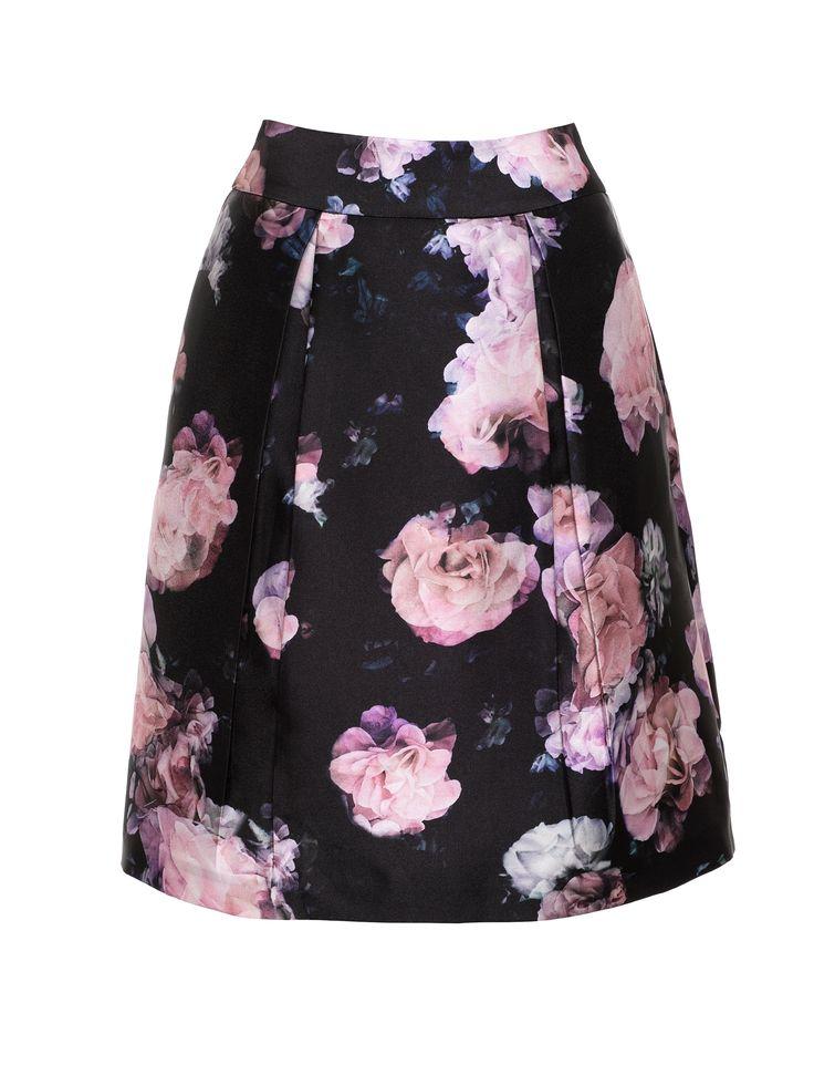 Nightfall Floral Skirt | Multi| Skirt