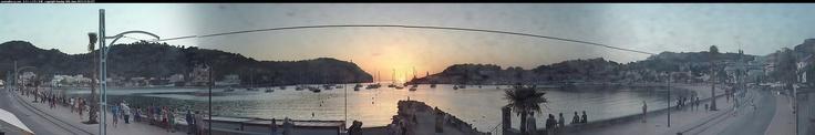 Soller sunset on Sunday