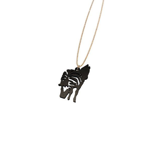 Zebra Backside Necklace (pendant)