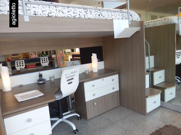 Las camas cuchetas pueden ser combinadas entre melamina - Pintar armario melamina ...