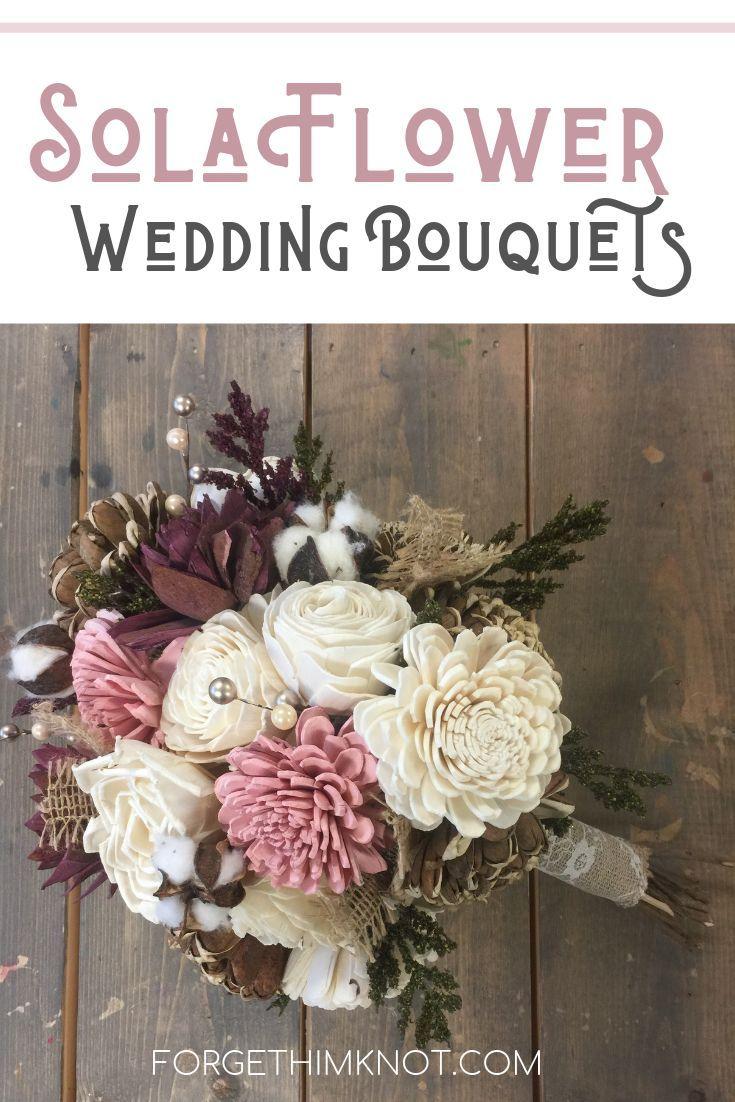 Hobby Lobby Sola Flower Wedding Bouquet Diy Wooden Flower