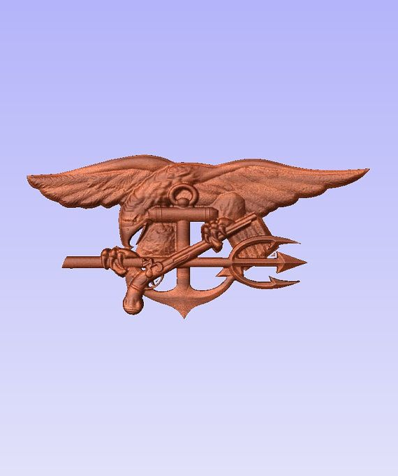 US Navy Seal Trident - can also be ordered off our main website at www.tawoodandvinyl.com