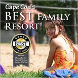 Bayside Resort on Cape Cod.... 2 pools, 2 bars, game room, clean, what more could parents want for the kids?