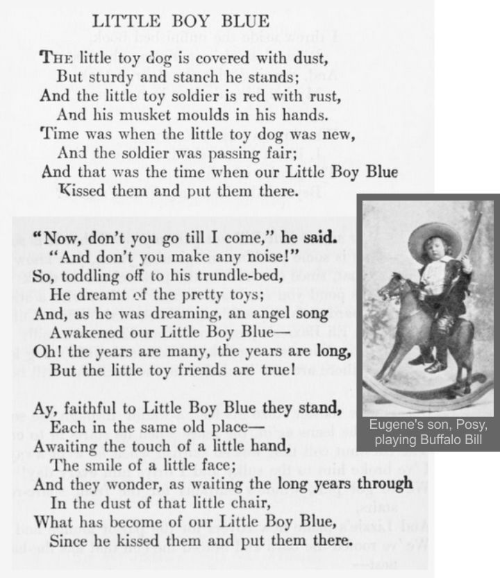 I Had To Memorize This Poem In The 6th Grade And I Can Still Recite It Over 50 Year Later How To Memorize Things Eugene Field Little Boy Blue