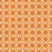 Windmills in Orange<br />Terrella-Creative<br />pattern seamless geometric shapes lines dots toy windmill circle square triangle diamond pale light dark orange blue