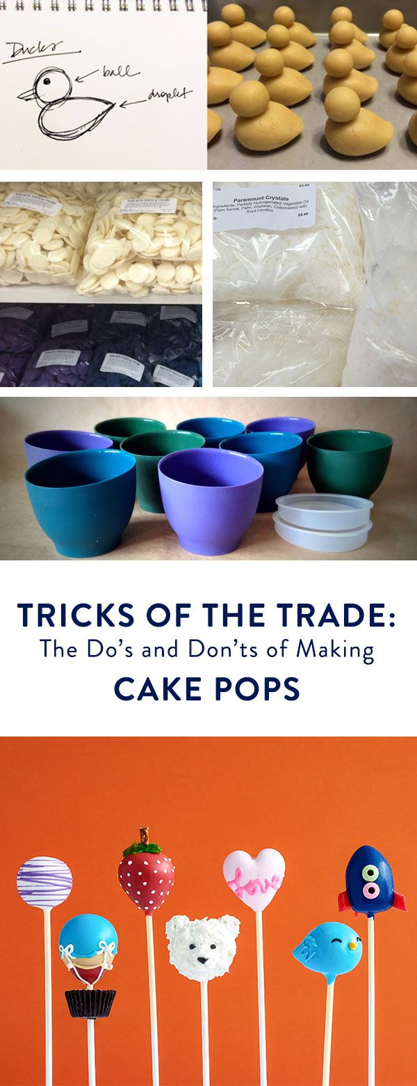 Curious about cake pops? Make sure yours always turn out perfect by reviewing our list of dos and don'ts!