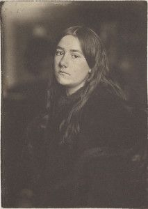 """Untitled (Portrait of Hermine Kasebier), circa 1896, Gertrude Kasebier. University of Delaware Collection, gift of Mason E. Turner Jr, 1979. Featured in March 2013 article, """"Gertrude Kasebier: Two Exhibitions In Delaware."""""""