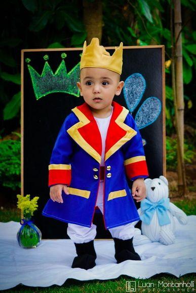 db37b80794 Fantasia de Pequeno Príncipe para bebês e crianças