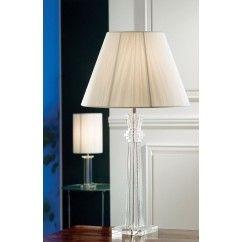 "Galway Crystal - Jazz Lamp 28"" and Free Shade. €159.00"