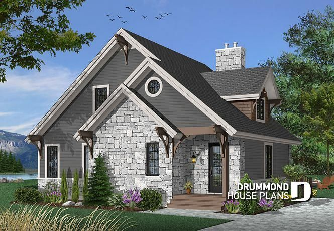 house plan The Touchstone No. 2957 | Drummond house plans, House ...