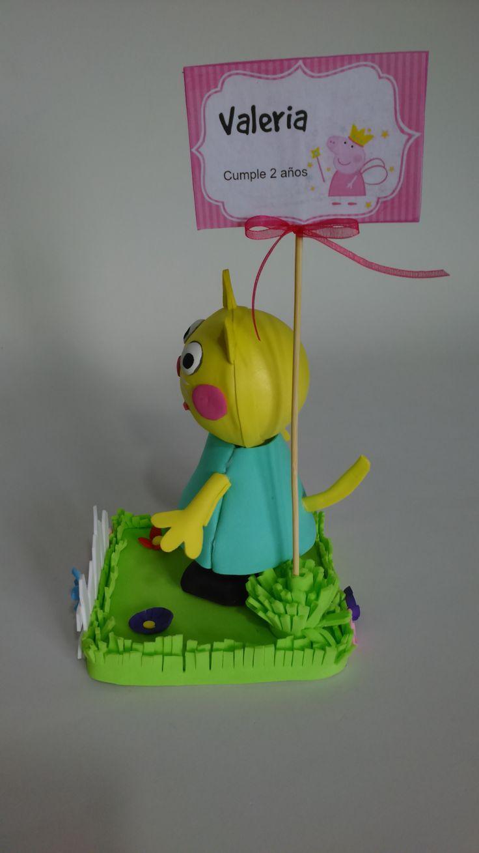 38 best peppa pig y amigos centros de mesa images on - Decoracion fiesta jardin ...
