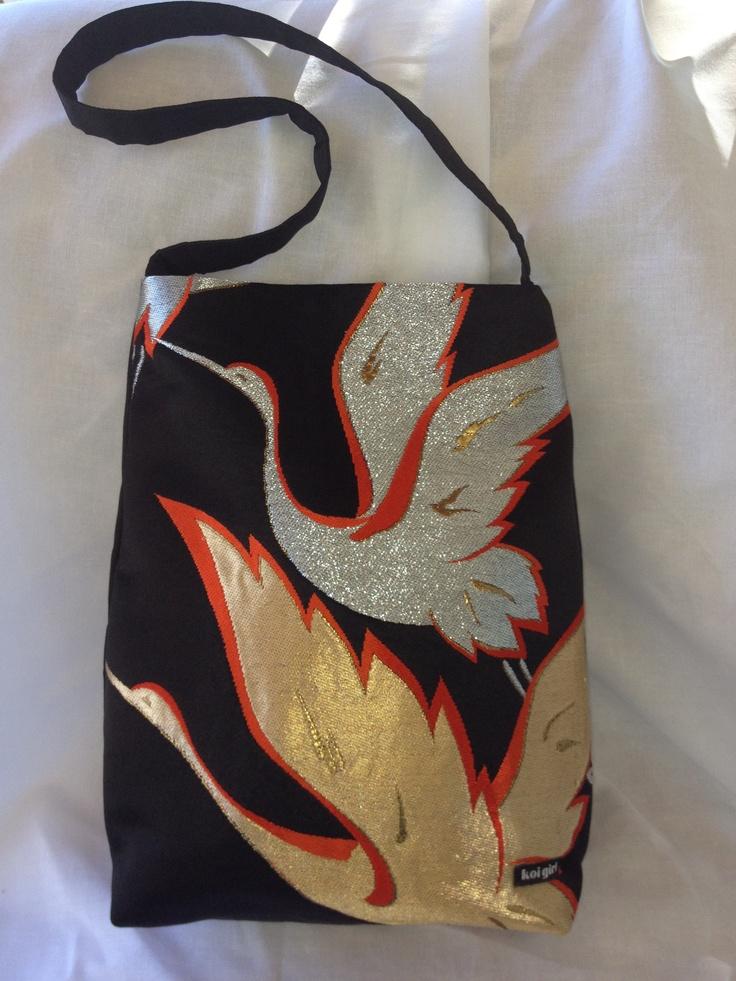 Koi Girl Crane Handbag  www.koigirl.com.au