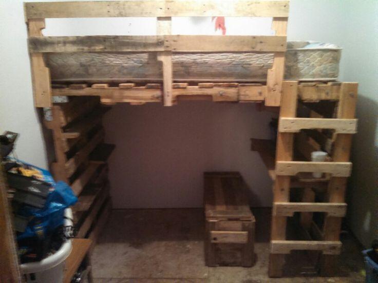 best 25 pallet loft bed ideas on pinterest loft boards