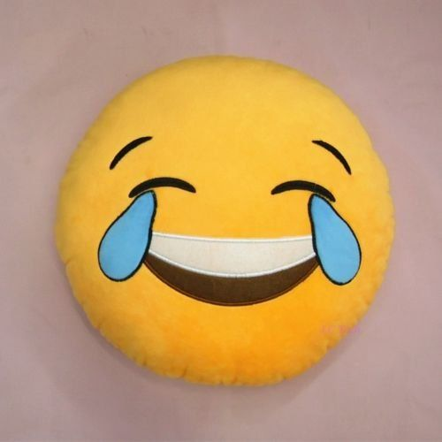 Cool88 Soft Emoji Smiley Emoticon Yellow Round Cushion Pillow Stuffed Plush Toy Doll (Pattern 1), 2015 Amazon Top Rated Pillow Shams #Home