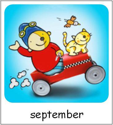 September | Pompom maanden