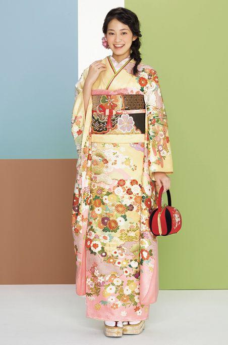 # 7: Furisode by Suzunoya.  Japan