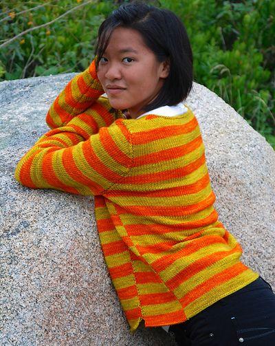 Versaciknits Carnaby Street Pullover Knitting Pattern