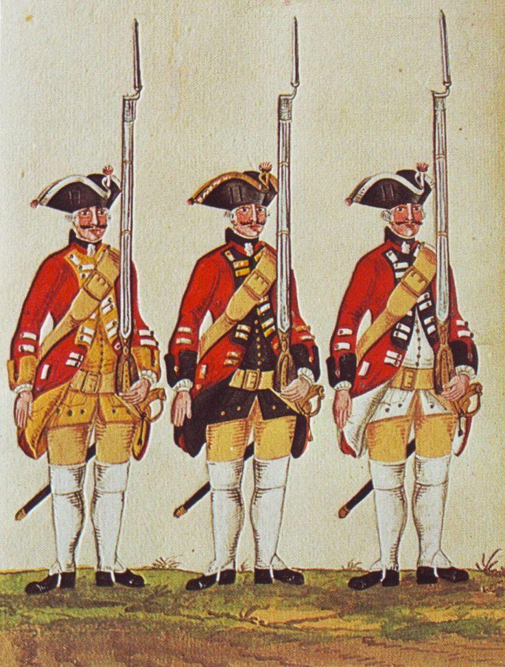 Hanover in the Seven Years War: Infantry Regiments Laffert Scheither and Reden by Karsten
