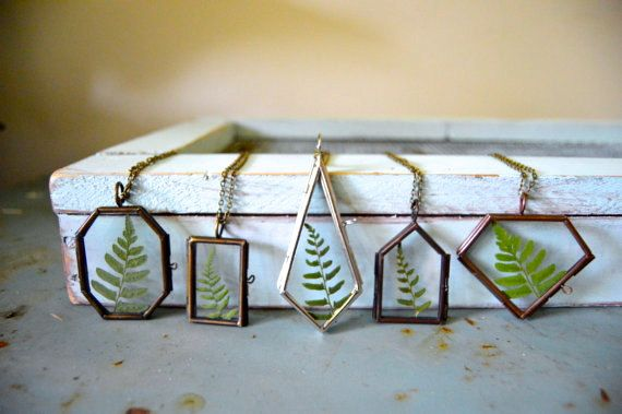 Hey, I found this really awesome Etsy listing at https://www.etsy.com/listing/196035040/forest-fern-glass-locket-necklace