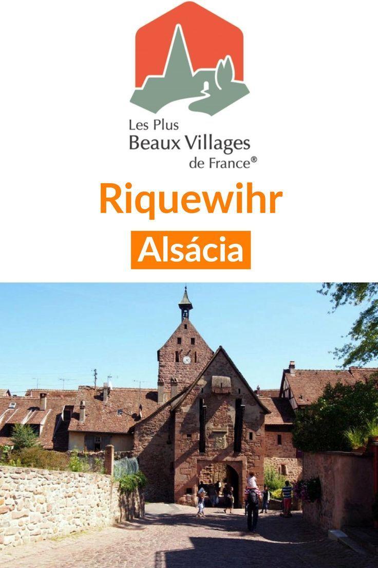 #Riquewihr na #Alsácia, uma das mais belas vilas da #França