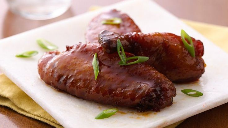With Asian flavor notes from soy sauce, ginger and pineapple juice, these slow-cooked chicken wings can be an appetizer or a meal in themselves.