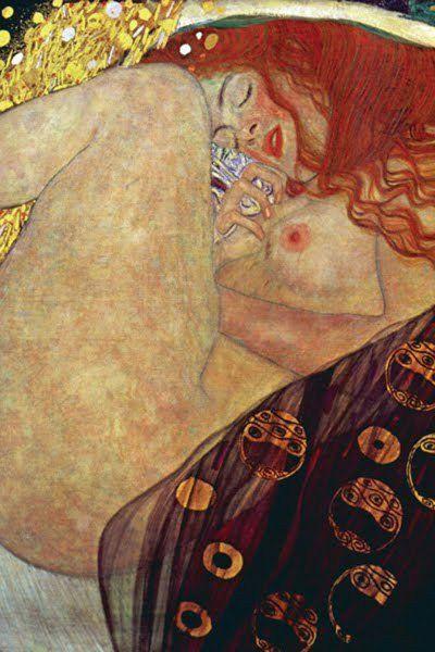 Danae, by Gustav Klimt
