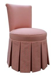 Isabelle Vanity Chair  Traditional, Transitional, Upholstery  Fabric, Dining Chair by Bjork Studio