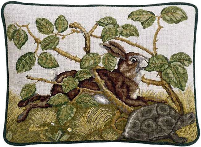 Beth Russell Hare and Tortoise cushion kit - so beautiful, but will have to wait!
