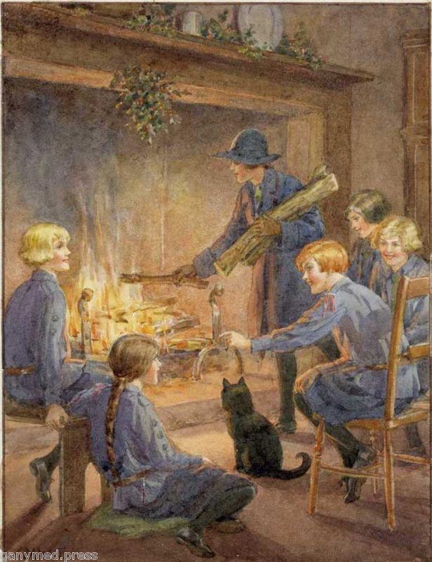 Christmas Eve by Margaret Tarrant