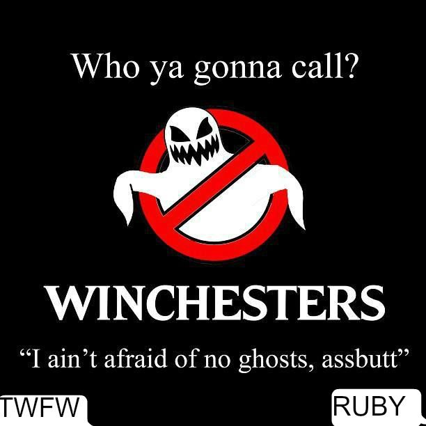 Who ya gonna call? Winchesters!!
