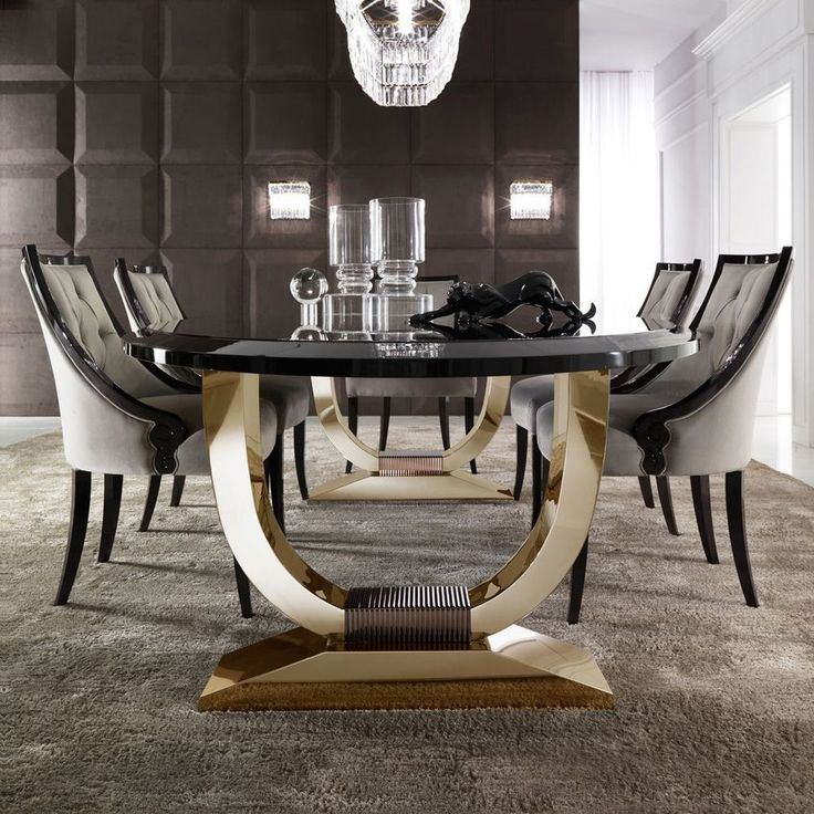 40 Ripping Luxury Dining Room Design, Design Dining Room Table Set