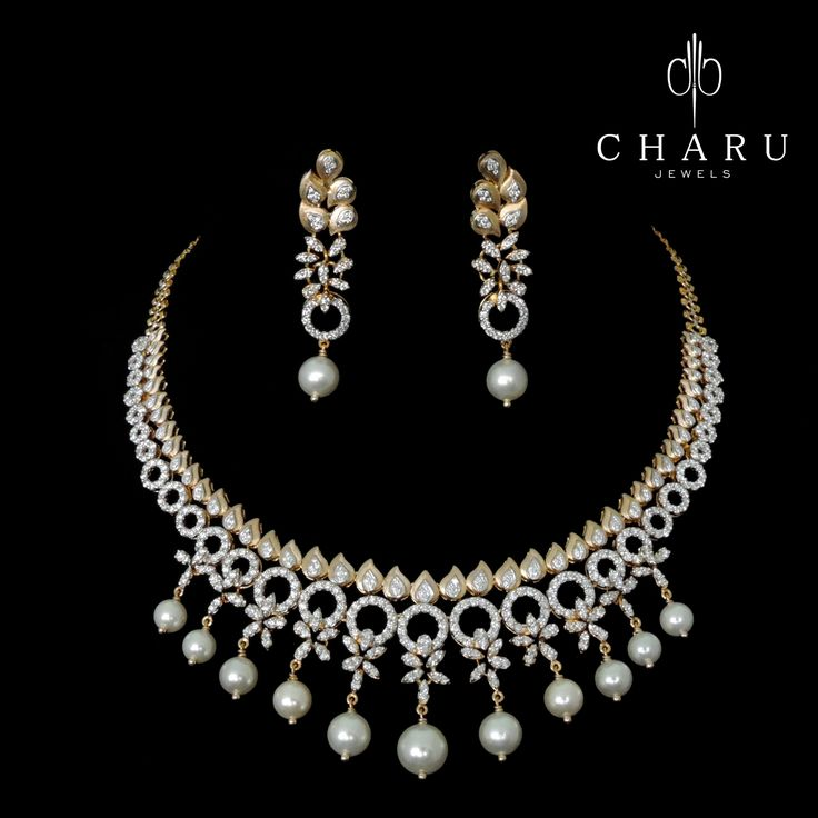 #Indian #traditional #Diamond #jewelery from #charu #jewels #exclusive #wedding #collection