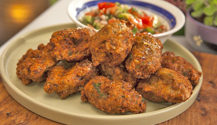 Acaraje Black-Eyed Pea Fritters with Prawn Filling