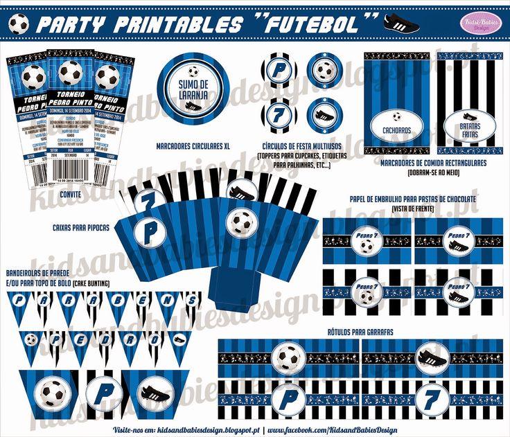 Party Printables :: Futebol