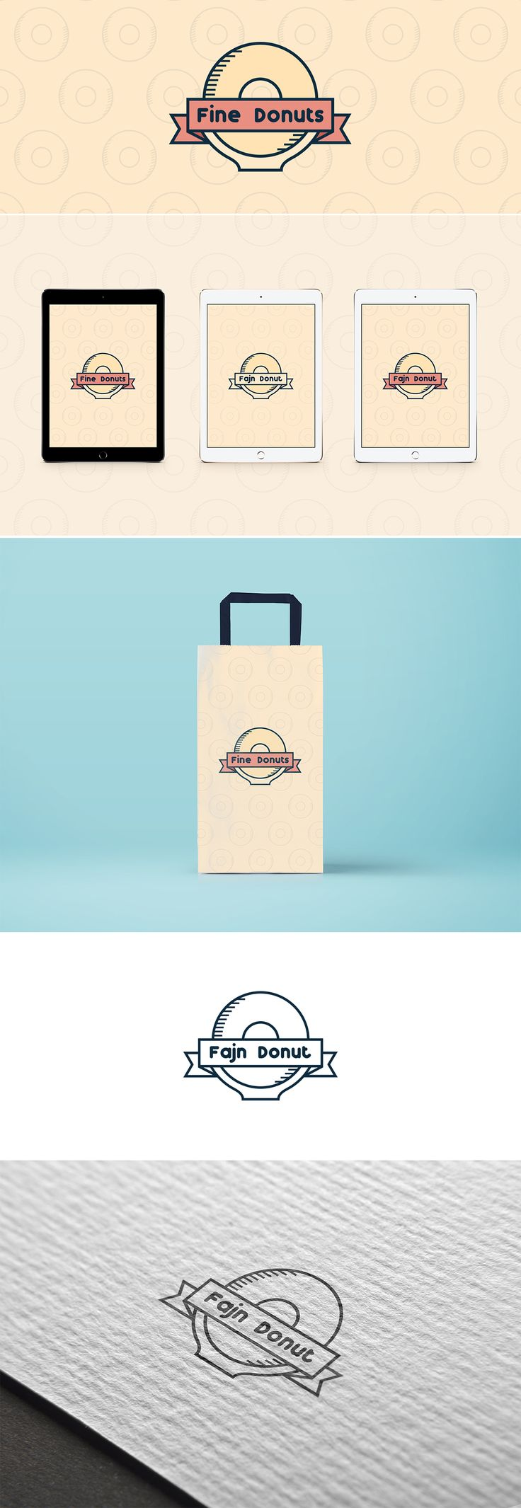 Fine Donuts 2 - logo on Behance
