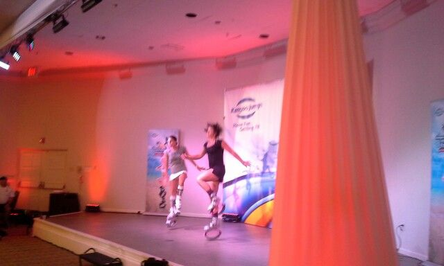 Golds gym girls.  #Amazing !!! See you at the #kjfestival2015!