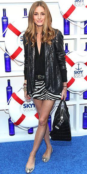 Zara skirt, DVF sequin jacket