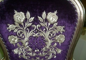 .Turkish silver embroidery
