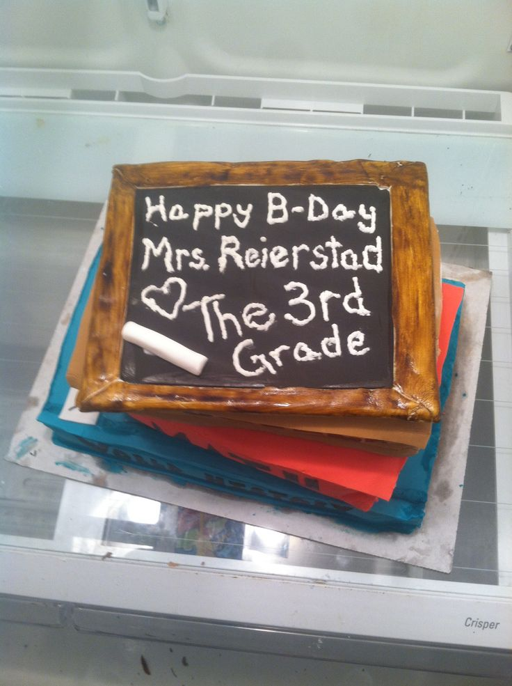 Text book cake