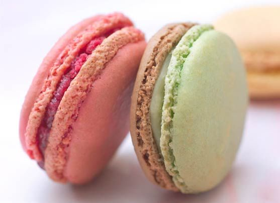 Macarons Frédéric Cassel sold at Lafayette Gourmet are the best