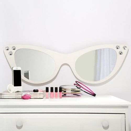 Amazon Com Cat Eye Wall Mounted Sunglasses Mirror