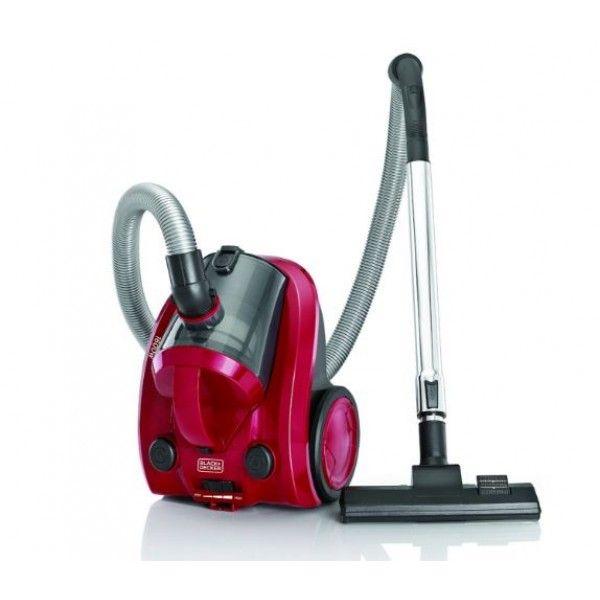Black and Decker VM1650 1600-Watt Vacuum Cleaner (Maroon) - Vacuum Cleaners - Large Home Appliances - Electronics